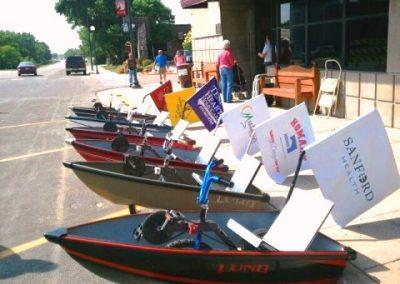 Boatville Drag Race Boats