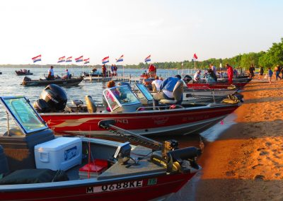 Lund Boats on Water
