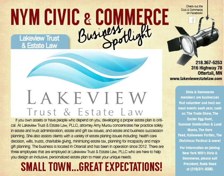 Lakeview Trust & Estate Law - Ottertail, MN